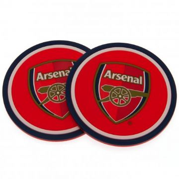 Arsenal 2 Pack Coaster Set